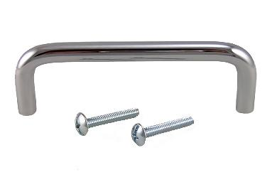 3 3/4 Inch Solid Chrome Pull