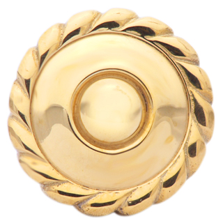 Georgian Furniture Hardware - Polished Brass Knob