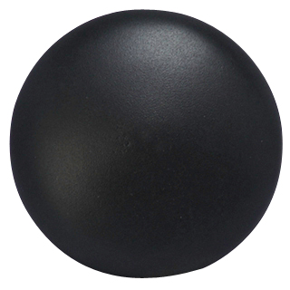 1 1/4 Inch Traditional Cast Brass Round Cabinet Knob (Oil Rubbed Bronze)