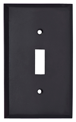 5 Inch Solid Brass Traditional Switch Plate (Oil Rubbed Bronze)