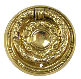 2 Inch Solid Brass Eastlake Diameter Ring Pull