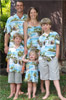 Paradise Island Surf Matching Family Outfit
