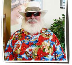 Santa Beach Fun Men's Shirt