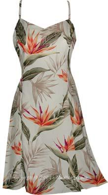 Bird of Paradise Hawaiian Sun Dress