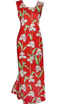 Orchid Panel Long Tank Dress