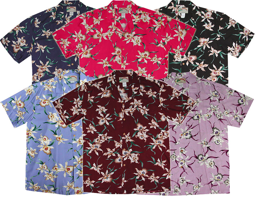 09084a45 Star Orchid Men's Tom Selleck Magnum PI Shirt
