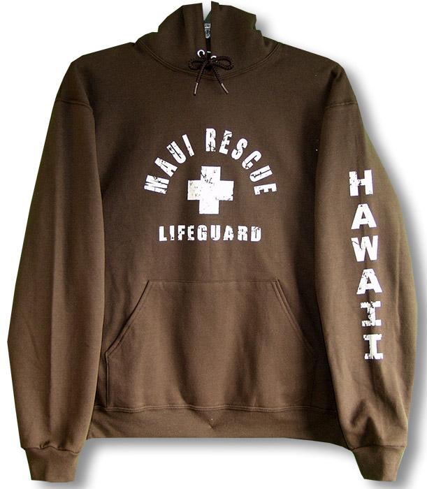 d5b308c4b6b Maui or Hawaii Rescue Lifeguard Pullover Sweatshirt