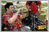 Tom Selleck, Magnum PI Black Jungle Bird Shirt