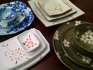 Our Cherry Blossom Tableware Collections & Cherry Blossom