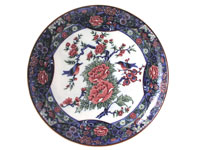 Round Peony Serving Plate