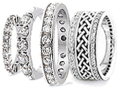 Women's Diamond Bands