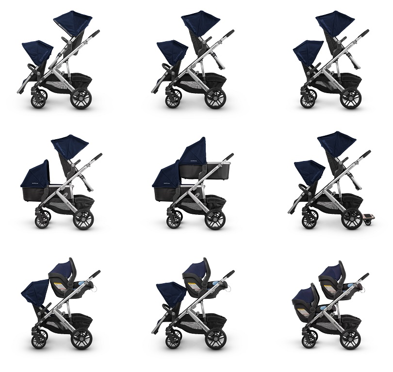 All New Uppababy Vista 2019 - In Stock, Free Shipping!