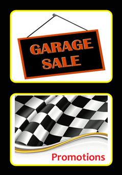 Garage Sale and Promotions