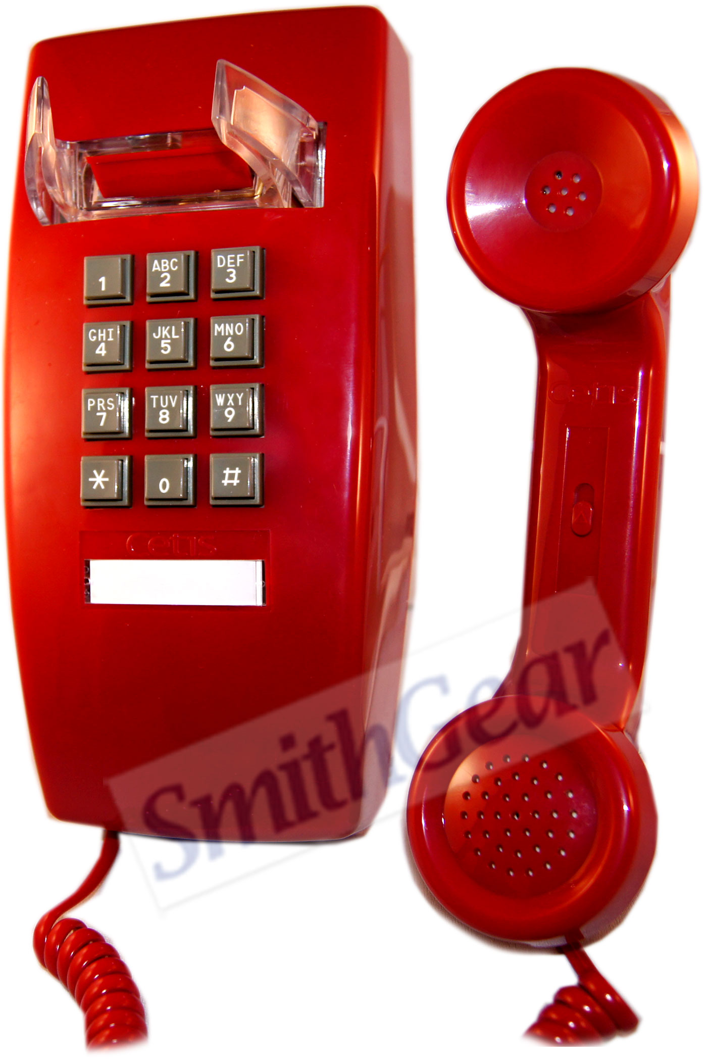 Scitec 2554 Red Wall Phone Basic