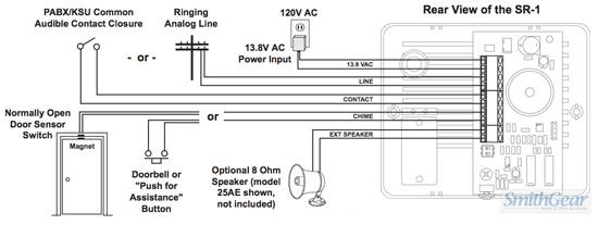 Viking Sr 1 Single Line Loud Ringer Door Bell Chime