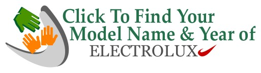 Find Electrolux Model Name & Year