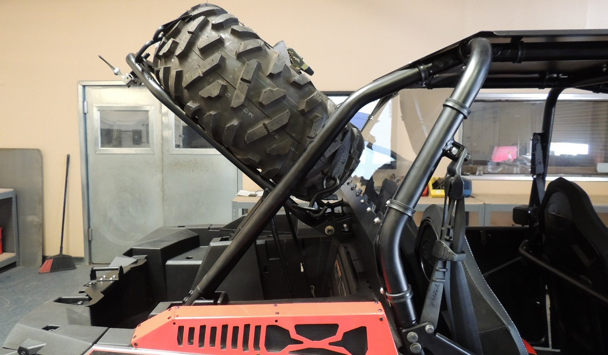2014 2018 Rzr Xp 1000 Amp Turbo Bed Lift Spare Tire Mount