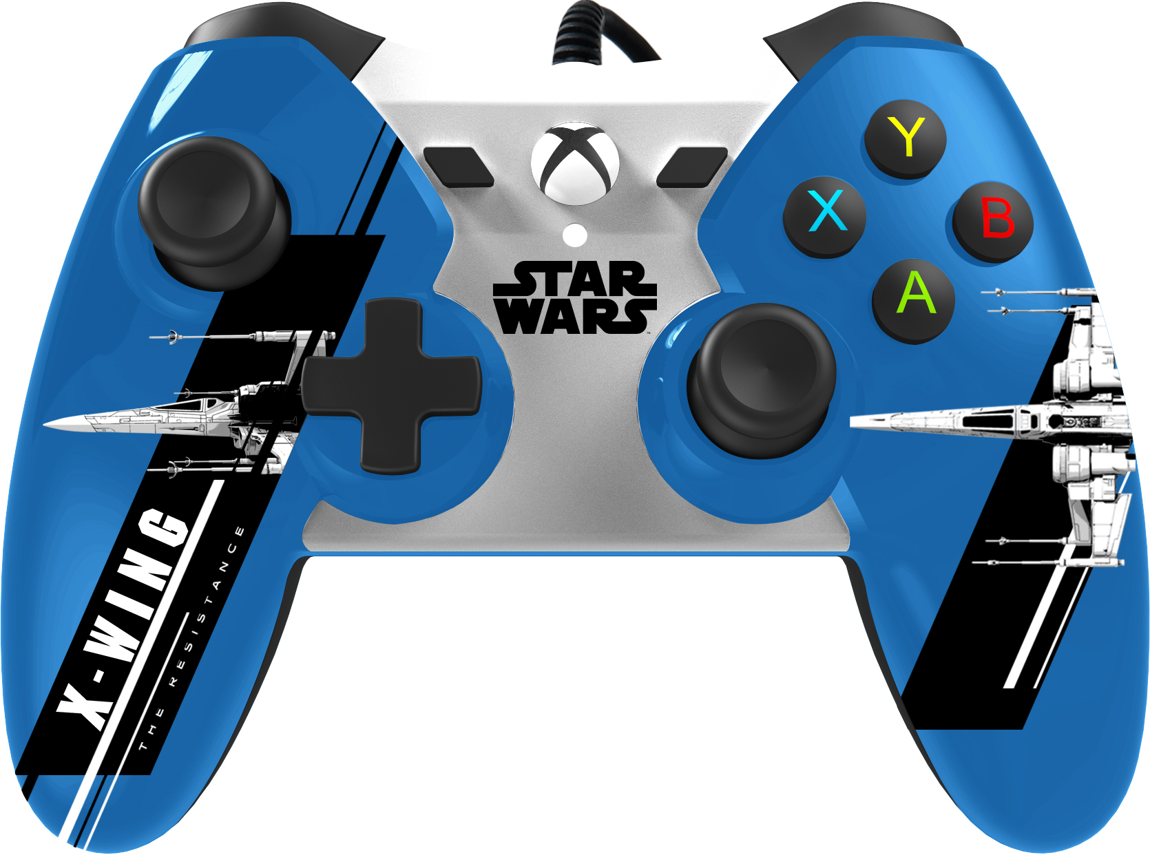 Power A Star Wars The Force Awakens EP7 Wired Controller X-Wing for ...