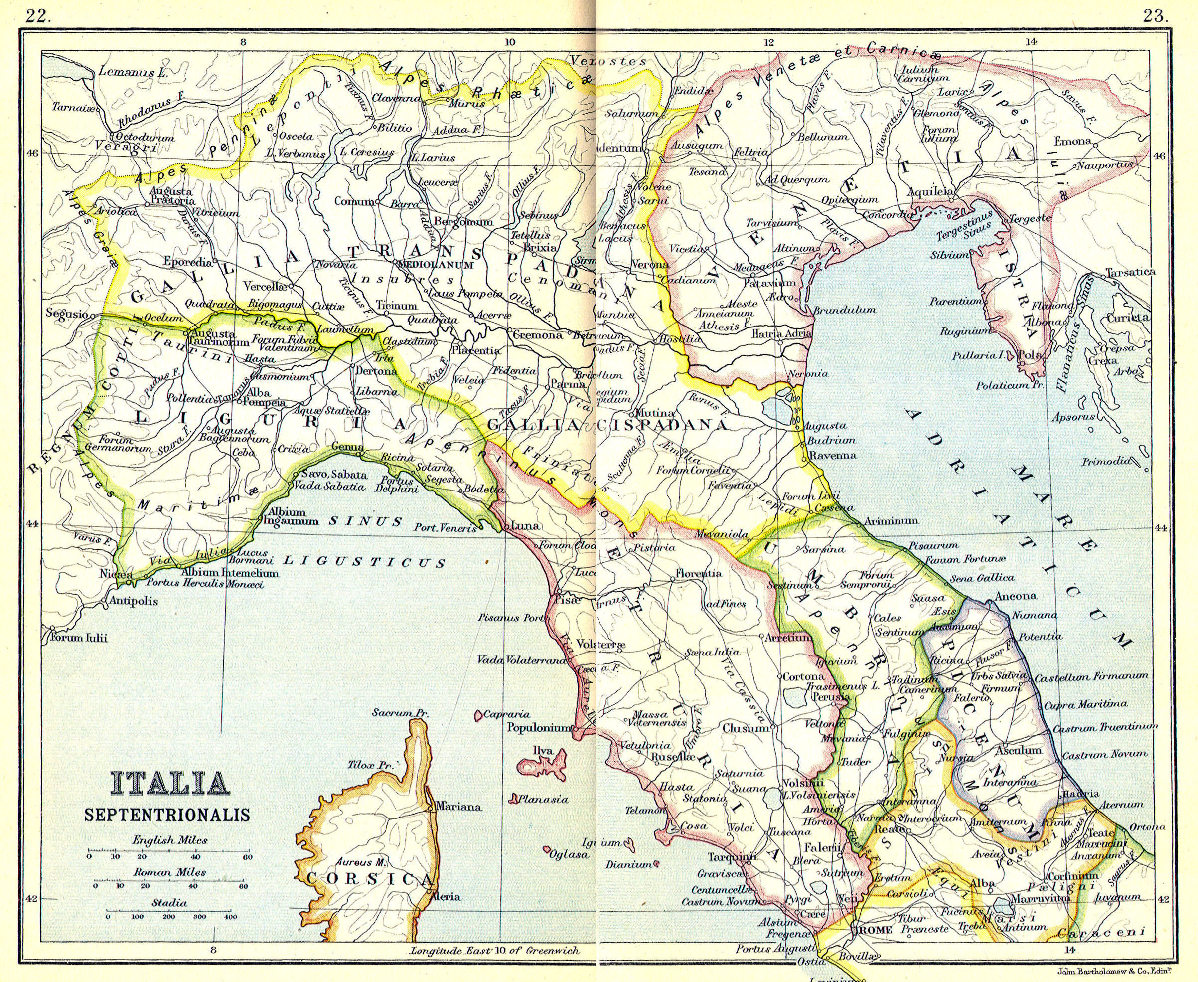 Map Of Central Italy Cities.Ancient Rome Classical Curriculum Heritage History Revision 2